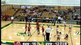 UVU: Women's Volleyball Vs SUU 2010