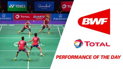 Performance Of The Day | Badminton Day 6 Grp 1 QF – JPN vs MAS - TOTAL BWF Sudirman Cup 2017