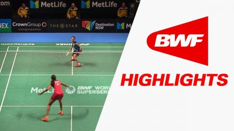 CROWN GROUP Australian Open 2017 | Badminton QF – Highlights