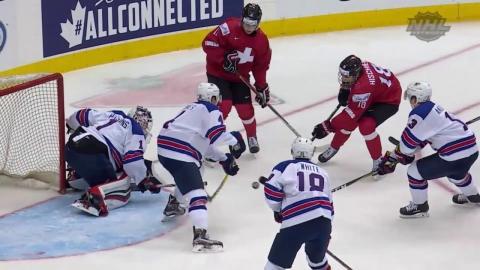 2017 WJC: Highlights from Team USA's Quarterfinal 3-2 Win over Switzerland