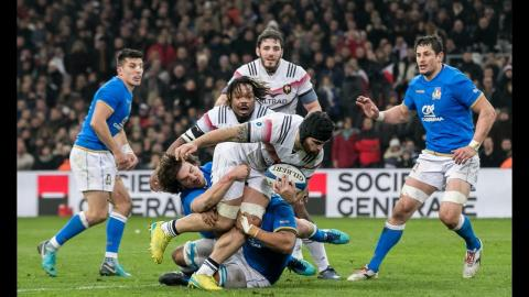 First Half Highlights: France v Italy | NatWest 6 Nations