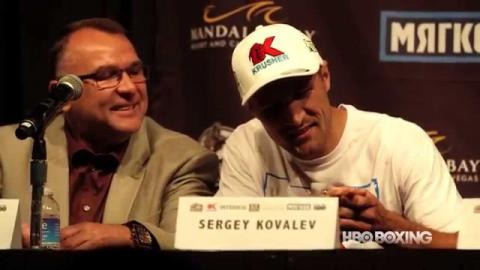 HBO Boxing News: Kovalev-Mohammedi Final Press Conference