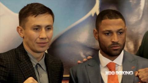 HBO Boxing News: Golovkin vs. Brook Final Press Conference Report