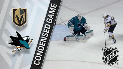 02/08/18 Condensed Game: Golden Knights @ Sharks