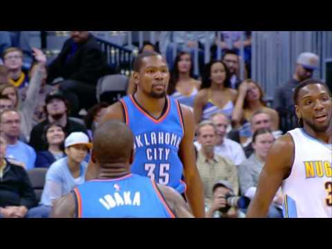 Kevin Durant Drops 30 on the Nuggets