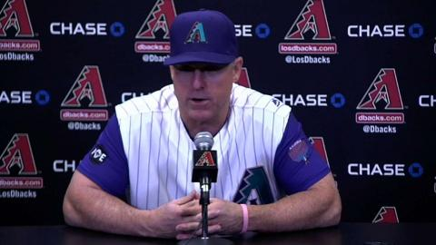 LAD@ARI: Chip Hale talks D-backs' 7-3 win