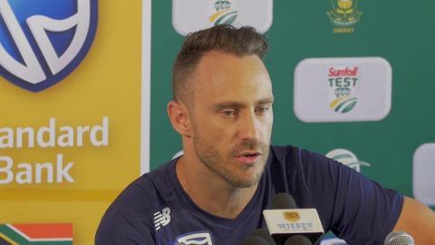 Hardest team selection we've had to make – Du Plessis