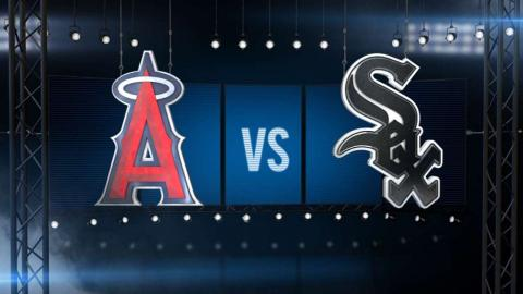 4/21/16: Weaver, Trout lead Angels past White Sox