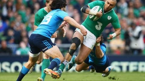 Ireland turn on the STYLE against Italy