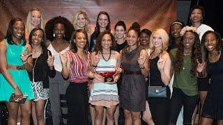 Women's Basketball Wins 2015 Jamie Carey Comeback Award