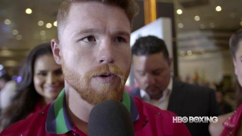 HBO Boxing News: Canelo Alvarez Interview (HBO Boxing)