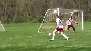 Dylan Laird #44, Sporting Indiana FC U17 Soccer, 5-3-15 Diving Header Vs. Midland, MI