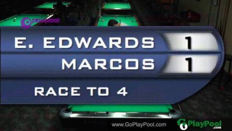 #1 Evan EDWARDS vs MARCOS / HTB October 9 Ball • 2016